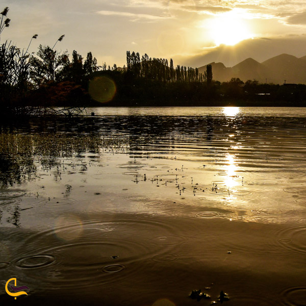 تصویری از دریاچه اوان