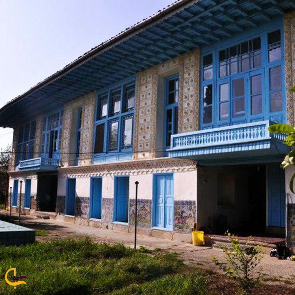 تصویر کلی از خانههای قدیمی خاندان صوفی