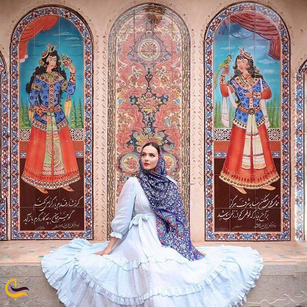 نقاشی های مسجد شاه اصفهان