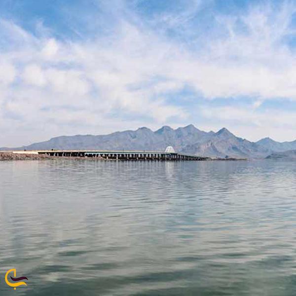 عکسی از آب های دریاچه فامور