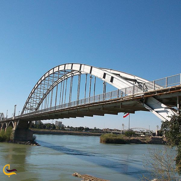 تصویر پل سفید اهواز