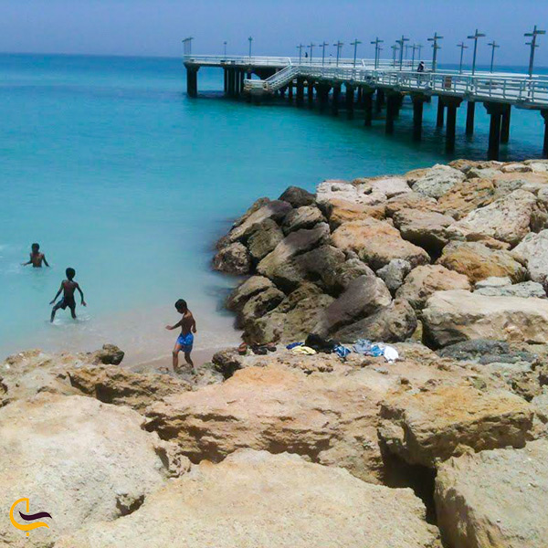 تصویر از ساحل میرمهنا کیش
