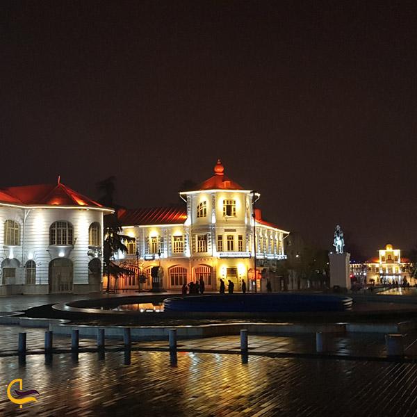 تصویری از شهر رشت