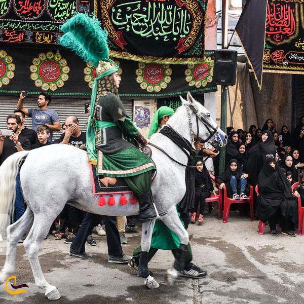تصویری از مراسمات مذهبی روستای دودانگه