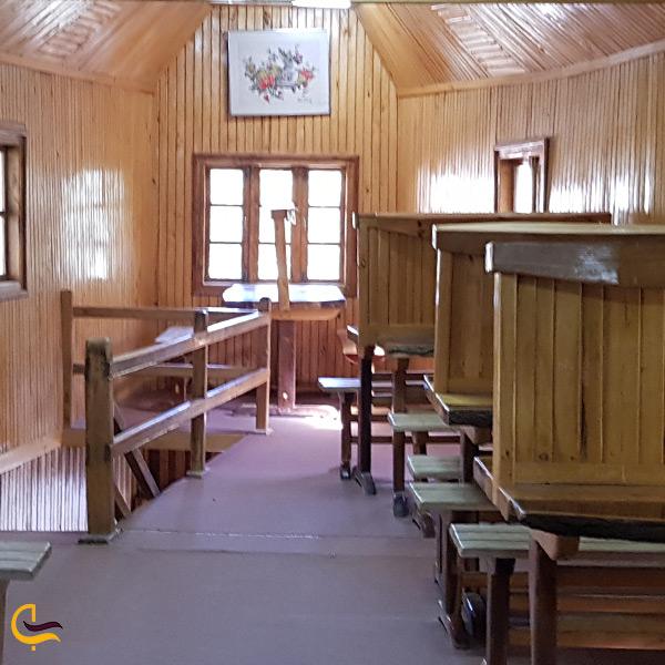 تصویری از رستوران دهکده چوبی نیشابور