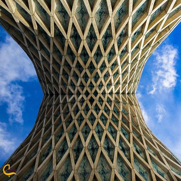 نمایی ازمعماری سقف