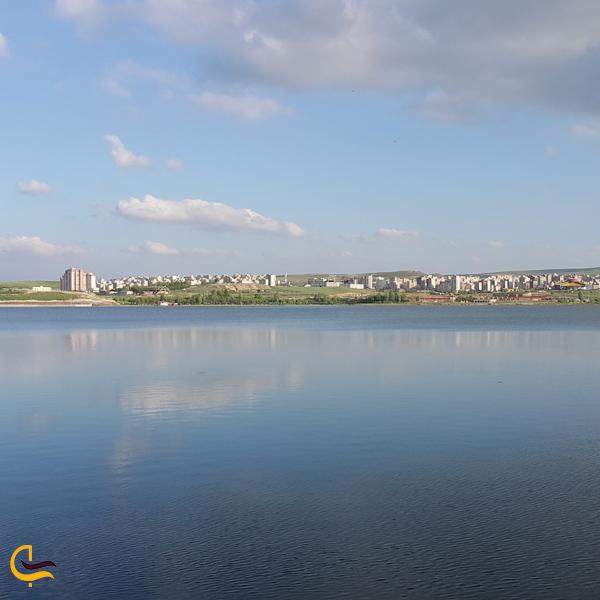 تصویری از دریاچه شورابیل