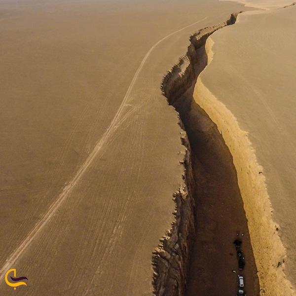 تصویری از دره زبان مار کرمان