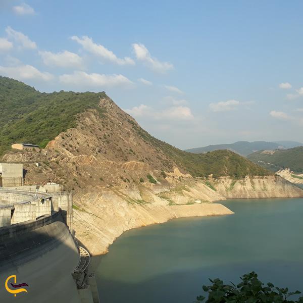 تصویری از سد سلیمان تنگه