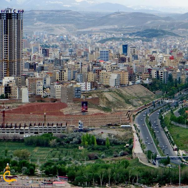 تصویری از شهر تبریز