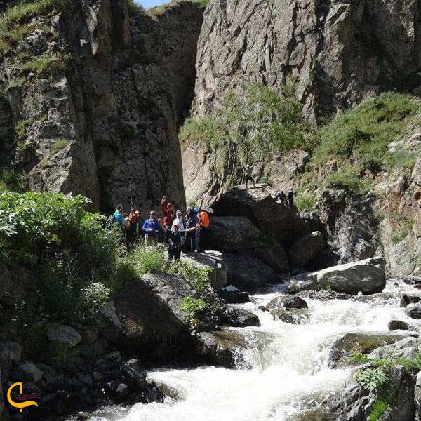 تصویری ازجاذبههای دیدنی آبشار گورگور