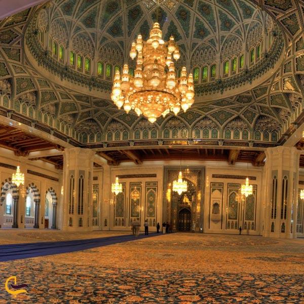 تصویری از مسجد سلطان قابوس