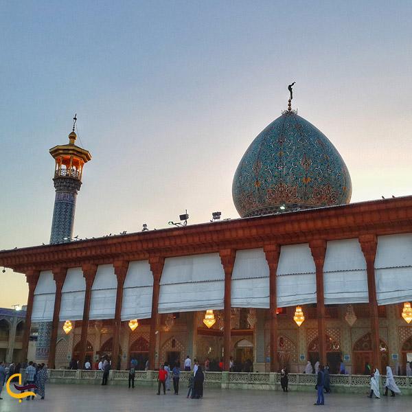 تصویری از حرم مطهر حضرت شاه چراغ شیراز