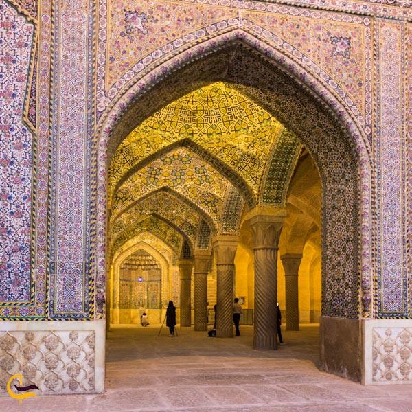 تصویری از مسجد وکیل شیراز