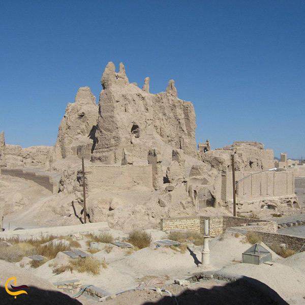 بازدید از نارین قلعه در شهر نایین
