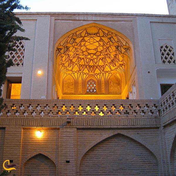 بازدید از خانه پیرنیا جاذبه تاریخی شهر نایین