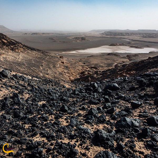 بازدید از منطقه گندم بریان در کرمان