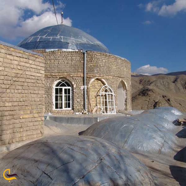 بازدید از امامزاده اسحاق در شهر دلیجان