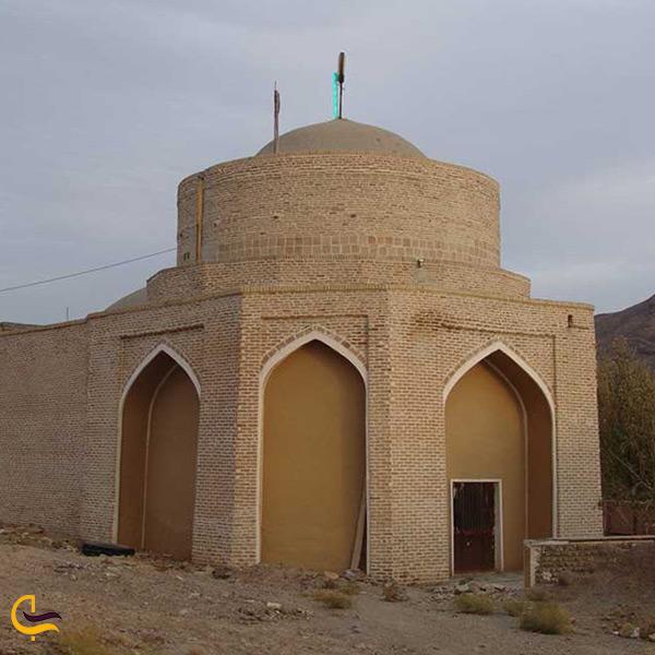 بازدید از امامزاده یحیی در شهر دلیجان