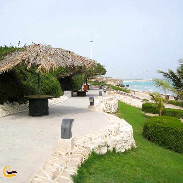 امکانات رفاهی ساحل سیمرغ کیش