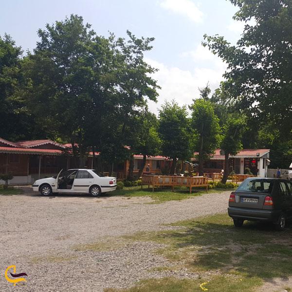 تصویری از دهکده چوبی کسری