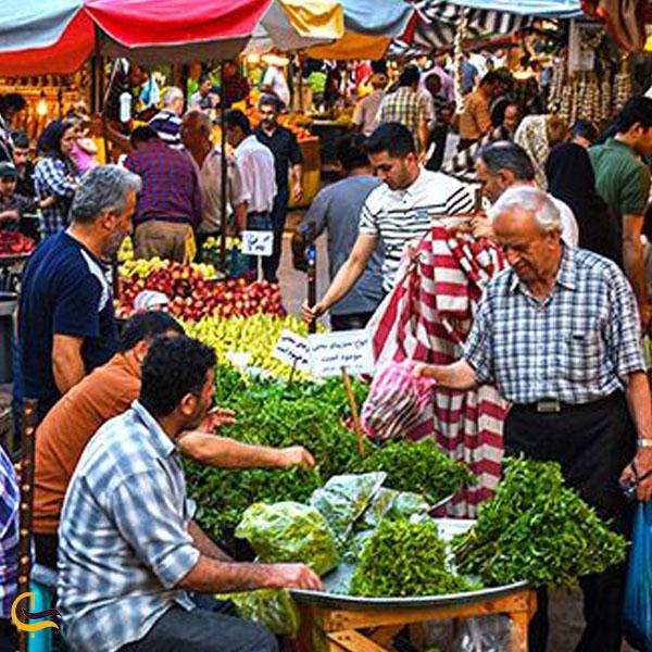 تصویری از بازار رشت