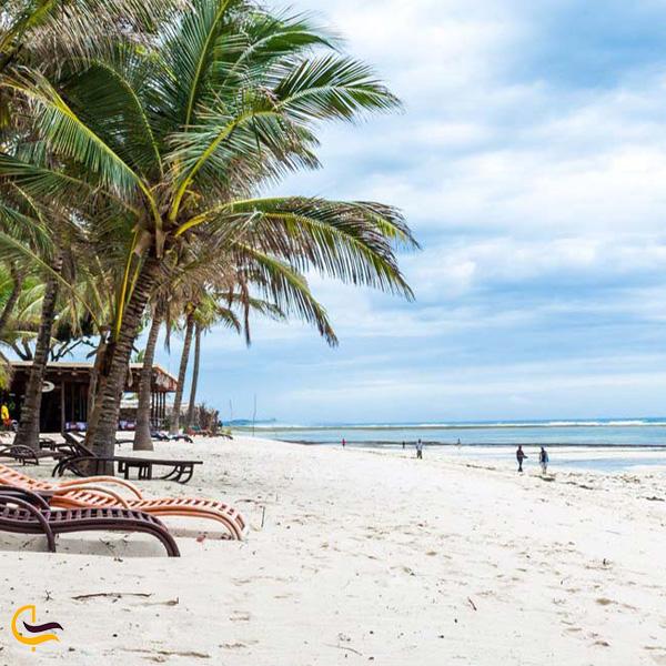 تصویری از ساحل القرم
