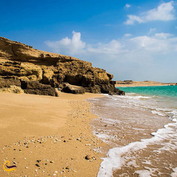 تصویری از ساحل قشم