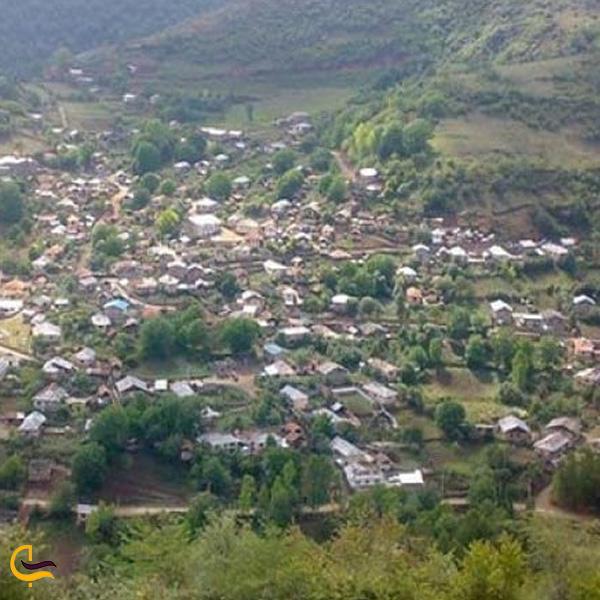 تصویر از روستای سرسبز بنافت دودانگه