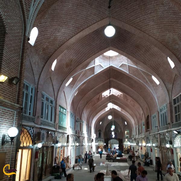 تصویری از بازار بزرگ تبریز