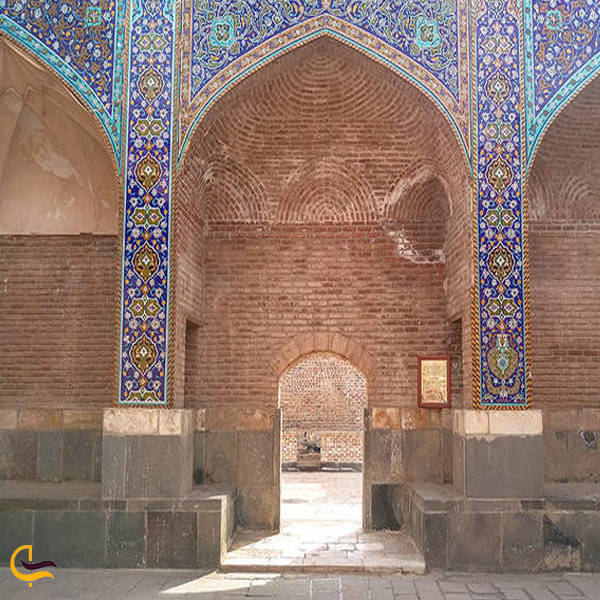تصویری از چله خانه در آرامگاه شیخ صفی الدین اردبیلی