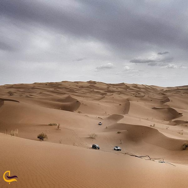 تصویری از کویر یلان کرمان
