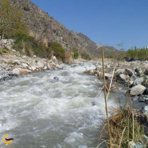 تصویری از رودخانه دره گلم دخترکش