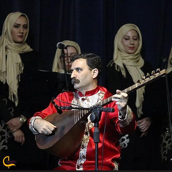 تصویری از موسیقی محلی کلیبر
