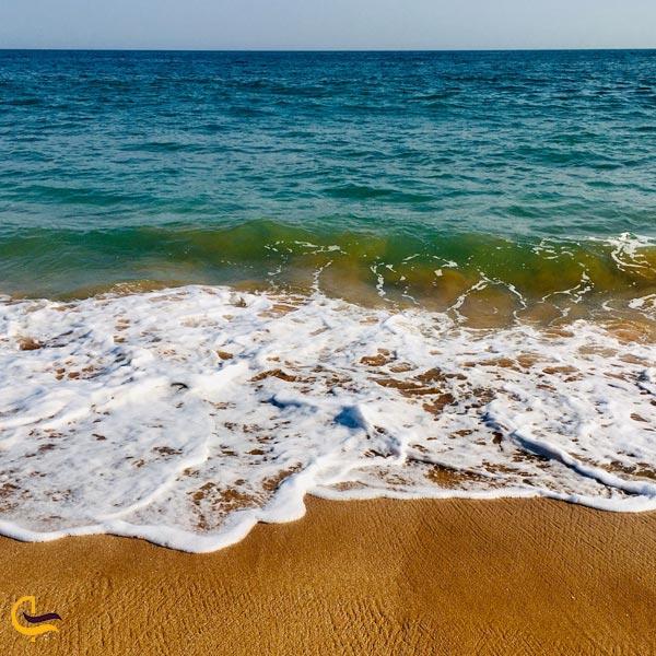 تصویری از ساحل چابهار