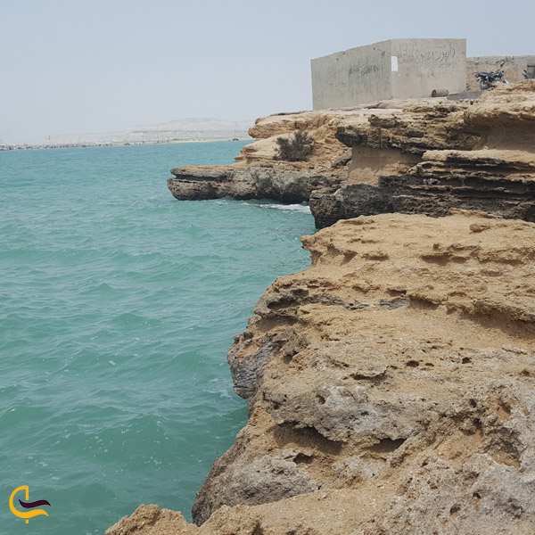 تصویری از جزیره ناز قشم