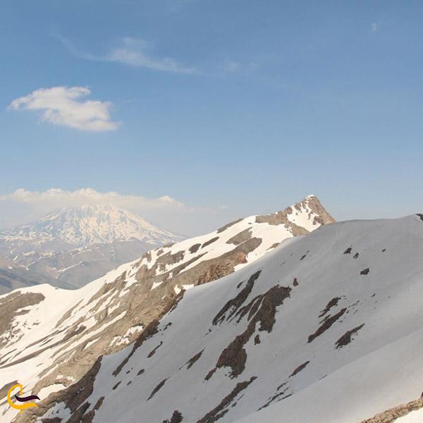 عکس قله آیمانکوه