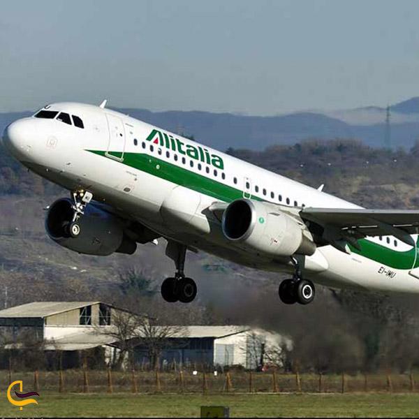 عکس خطوط هواپیمایی آلیتالیا