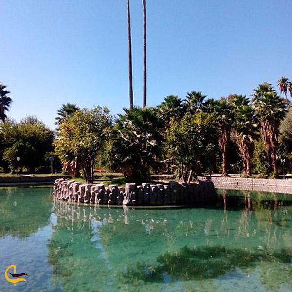 تصویری از باغ چشمه بلقیس