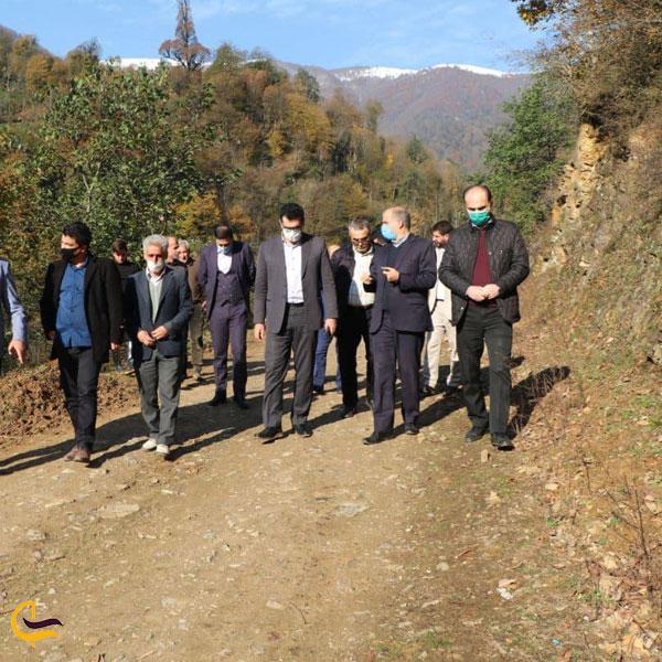 نمایی از روستای بداب