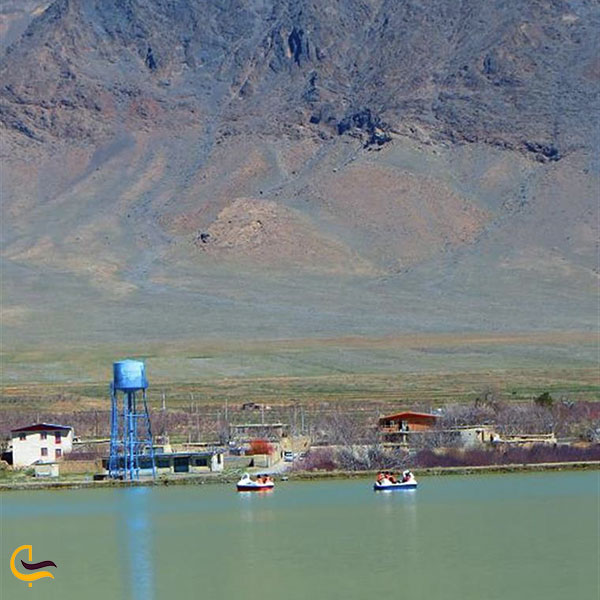 عکس دریاچه خان آباد خمین