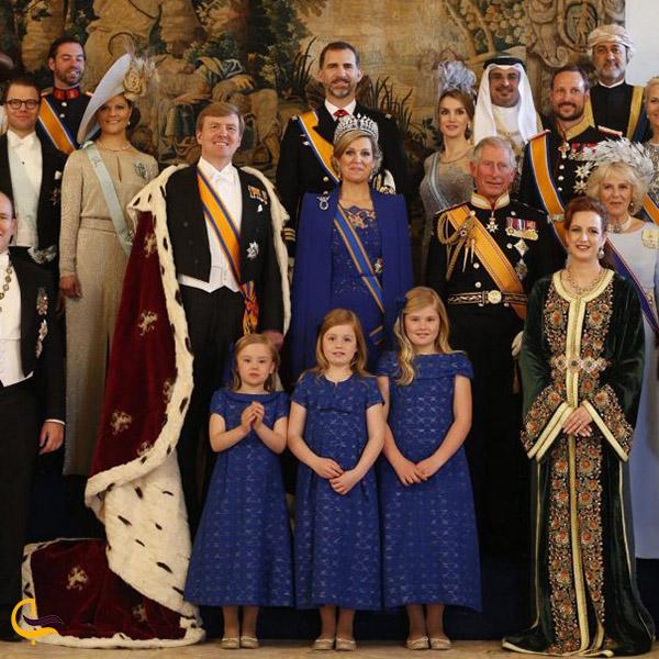 عکس جشن پادشاهی هلند