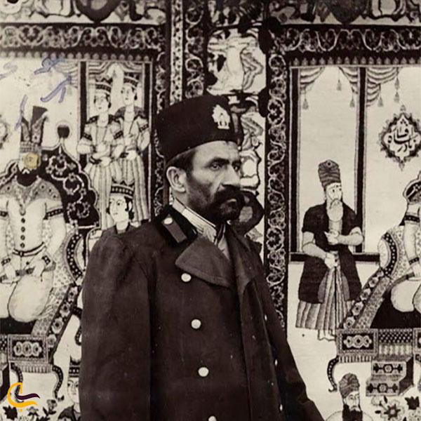 عکس غلامحسین خان حاجی ایلخانی
