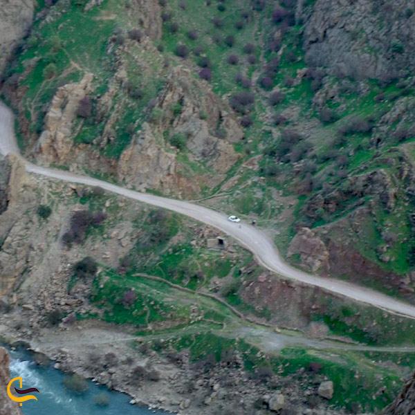 تصویری از جاده هجیج اورامانات