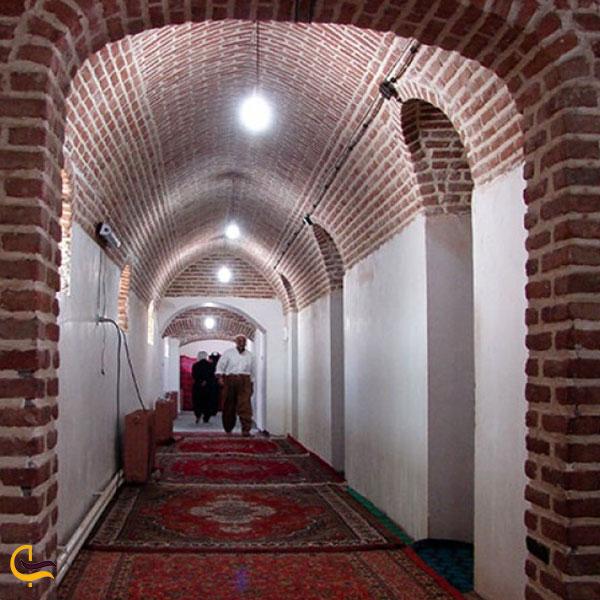 عکس فضای داخلی خانقاه شیخ شمس الدین برهانی