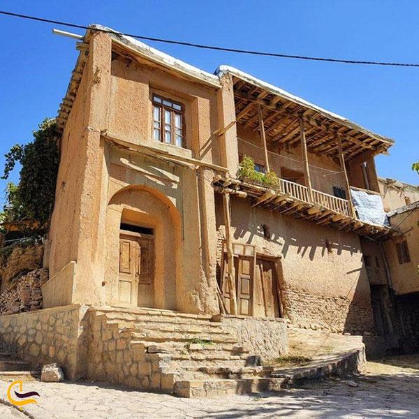 عکس خانههای سنتی روستای خانقاه