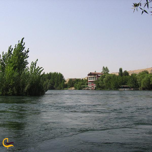 عکس دریاچه دوکان
