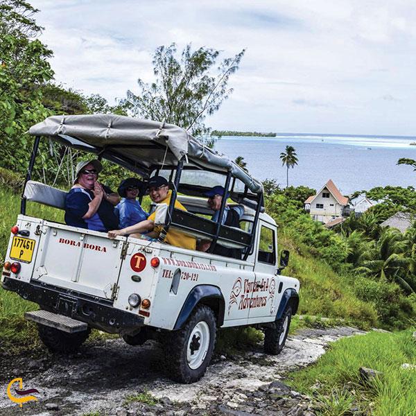 تصویری از آفرودسواری در جزیره بورا بورا