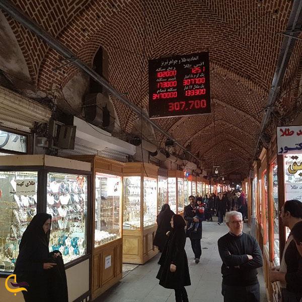 تصویری از راسته امیر بازار تبریز