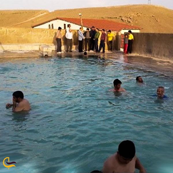 عکس چشمه آبگرم ایستی سو سلماس